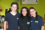 karate Francesca Della Rosa e Eleonora Topino