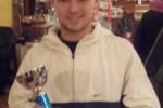Granzotto  Mirko vince il torneo nazionale di 4° categoria al circolo Empire di Roma