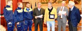 """Stefano Gasparri ha vinto il premio """"Angelo Jacopucci"""" 2014 come sportivo dell'anno. (1)"""